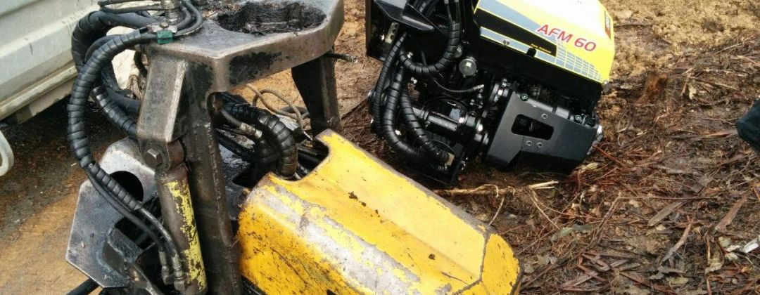 Used forest machines