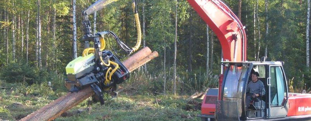 Комби головка для лесозаготовок AFM 60 Combi